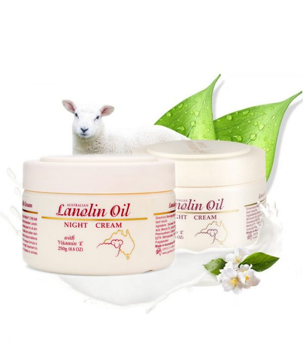 Australian Lanolin Oil Night Cream